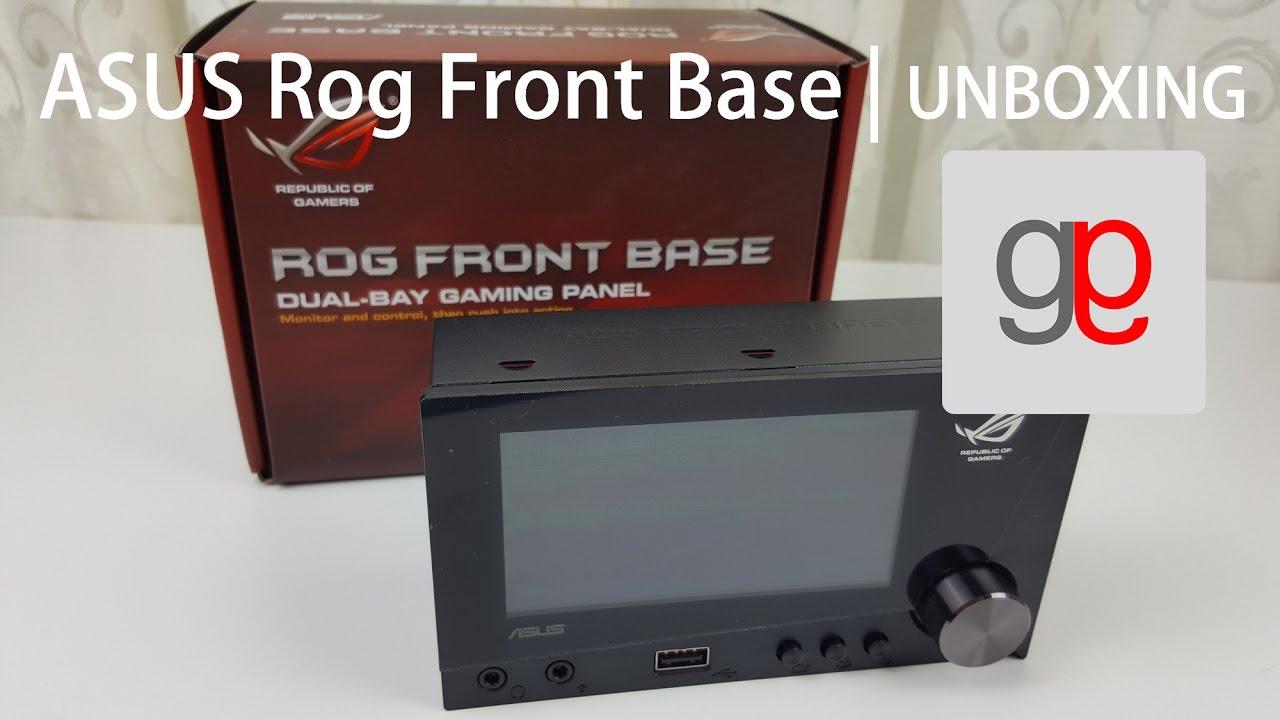Les fonctions du ROG Front Base - YouTube