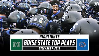 Mountain West Championship: No. 19 Boise State Football Top Plays vs. Hawaii (2019) | Stadium