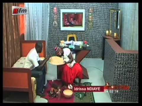Kouthia Show -  Le Marabout Idrissa Ndiaye -  04 Février 2014