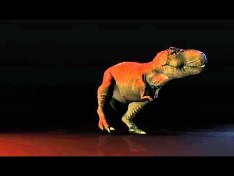 T Rex Dancing Animation Youtube