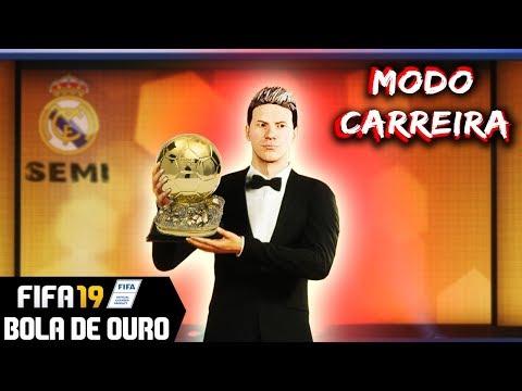 FUI ELEITO O MELHOR JOGADOR DO MUNDO ⚡⚽ FIFA 19 - CARREIRA JOGADOR #48