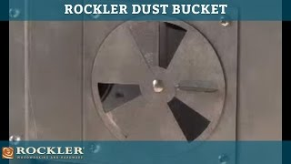 Rockler Dust Bucket - Dust Collection For Router Tables