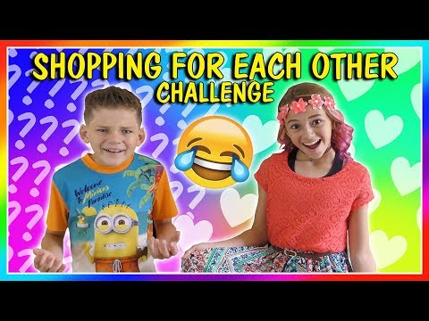 SIBLINGS BUY OUTFITS FOR EACH OTHER!   SHOPPING CHALLENGE   We Are The Davises