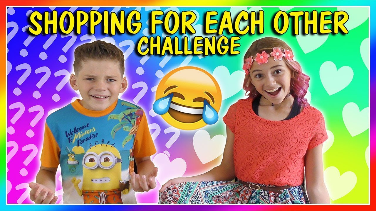 [VIDEO] - SIBLINGS BUY OUTFITS FOR EACH OTHER! | SHOPPING CHALLENGE | We Are The Davises 1