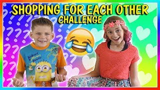SIBLINGS BUY OUTFITS FOR EACH OTHER! | SHOPPING CHALLENGE | We Are The Davises