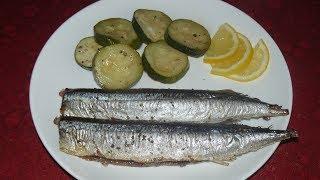 Рыба, которую будете готовить постоянно. Сайра в духовке.