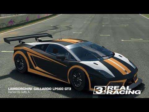 Real Racing 3 Tuning Lamborghini Gallardo LP560 GT3
