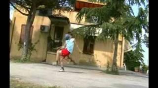 emanuele old clips p1 incredibile calcio freestyle football patw ronaldinho