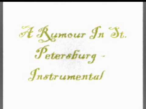 Anastasia: A Rumour In St. Petersburg - Instrumental