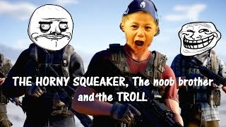 """""""The squeaker, The noob and the Troll"""" part 1 (Ghost Recon TROLLing)"""