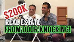 Real Estate Agent Makes $200,000 ONLY Door Knocking