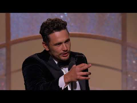 James Franco Wins Best Actor in a Musical or Comedy - GG 2018