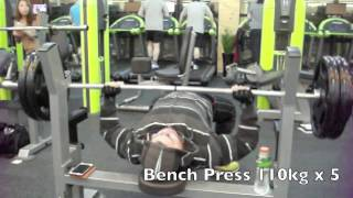 Chest And Triceps With Bench Press, Skullcrushers And Pec Deck