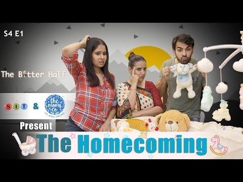 SIT | The Better Half-S4 | THE HOMECOMING| Chhavi Mittal | Karan V Grover | Arham