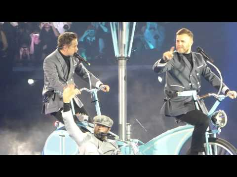 download take that live portrait and these days o2 aren