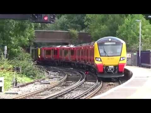 *BRAND NEW* The SWT Class 707's first day in passenger service!