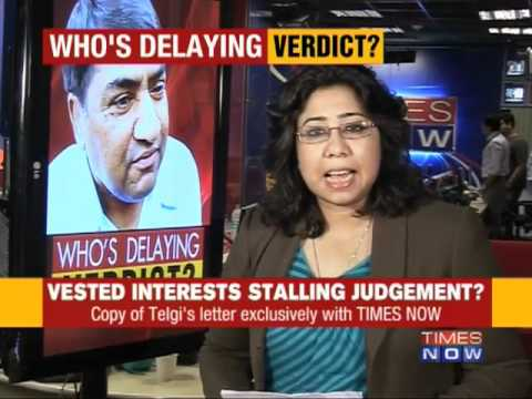Who's stalling Telgi judgement?
