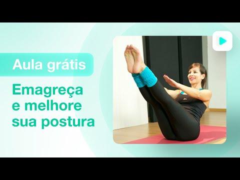 Aula de pilates para iniciantes - emagreça e melhore sua postura | Sheila Dionísio