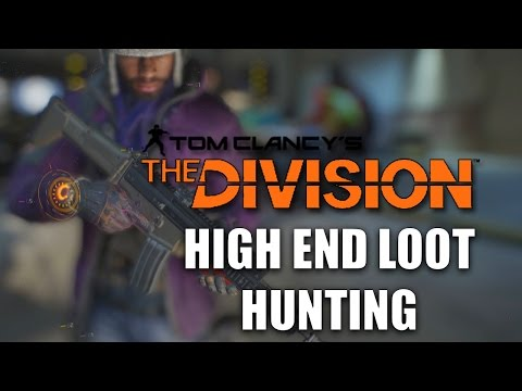 The Division High End Weapons & Gear Hunting #1 Earning Phoenix Credits FAST! | DomisLive