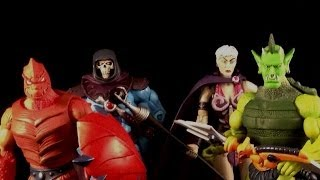 MOTUC Masters Of The Universe 200x Kevin Kosse Heads Showcase