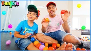 Funny Ball Pits Jokes with Jason and his Brother