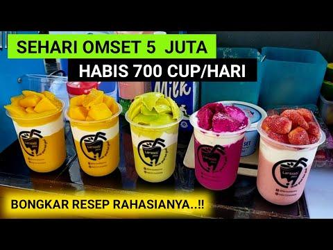 CUMA JUALAN JUS TAPI OMSETNYA NGALAHIN GAJI DPR..!!! 700 CUP LUDES/HARI DAN OMSET 150 JUTA/BLN