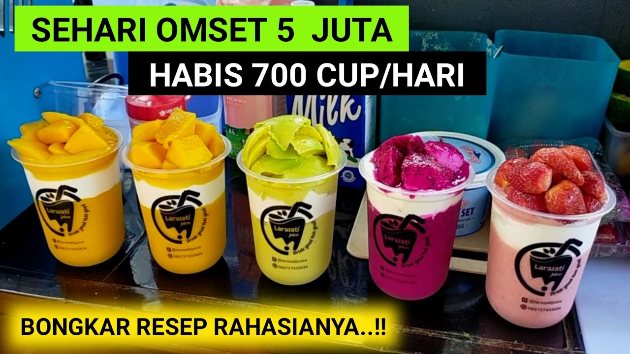 Download CUMA JUALAN JUS TAPI OMSETNYA NGALAHIN GAJI DPR..!!! 700 CUP LUDES/HARI DAN OMSET 150 JUTA/BLN