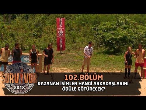 Kazanan isimler hangi arkadaşlarını ödüle götürecek? | 102. Bölüm | Survivor 2018