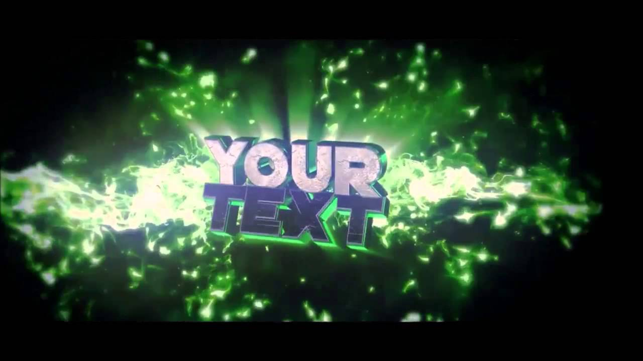 FREE After Effects & Cinema 4D Intro Template: Amazing 3D Text Intro ...