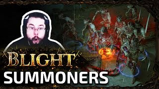 New minion gems are awesome - Path of Exile Blight
