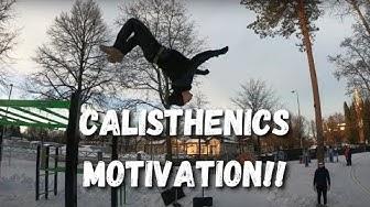 CALISTHENICS MOTIVATION - Sami Nevalainen & Joel Asikainen