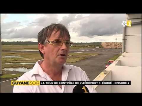 La grande diversité des appareils de l'aéroport Félix Eboué à Cayenne