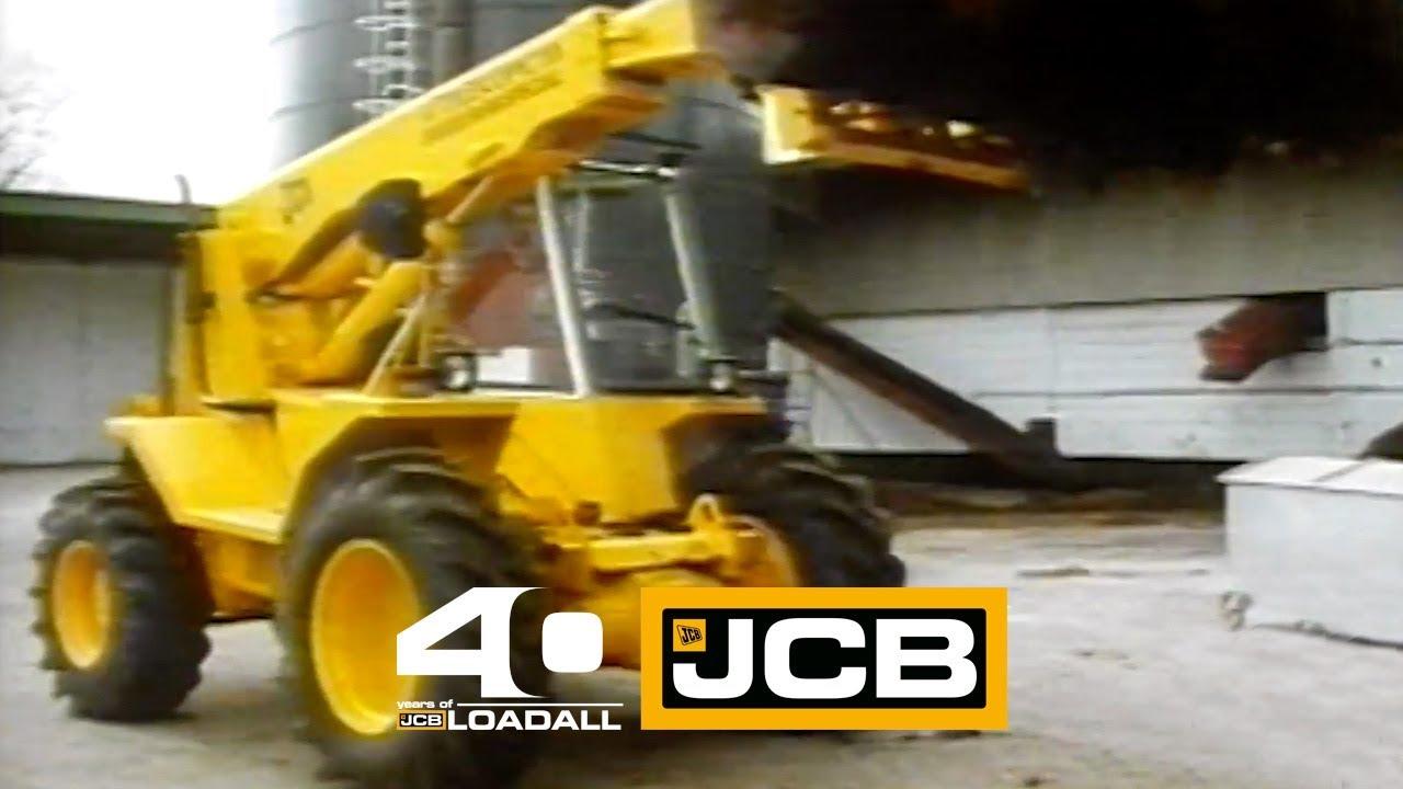 JCB Power for the farmer - Celebrating 40 Years of Loadall