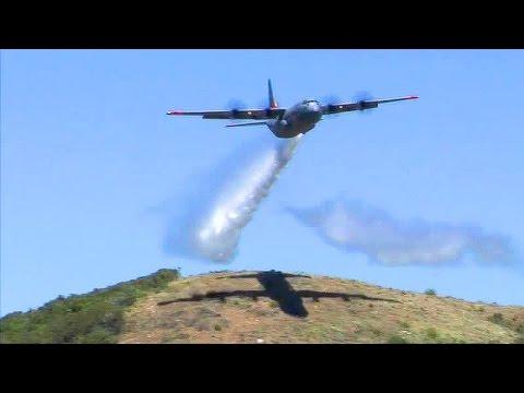 C-130J Water Bomber - Modular Airborne Firefighting System (MAFFS)