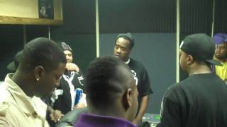 THE KING OF MEMPHIS D.J. PAUL in the studio killer beat with his boy Computer -