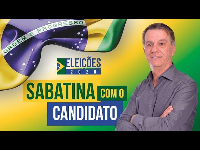 #Eleições2020 Assista a sabatina com o candidato a prefeito de Rio Negro, Gari da Rádio.