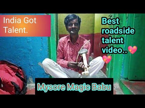 India Got Talent//The coconut violinist // Enjoy Mysore magic Babu's best performances//