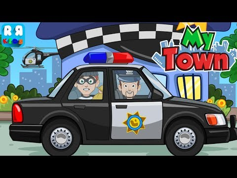 My Town : Home Doll House  New Update with Policemen and Bad guys