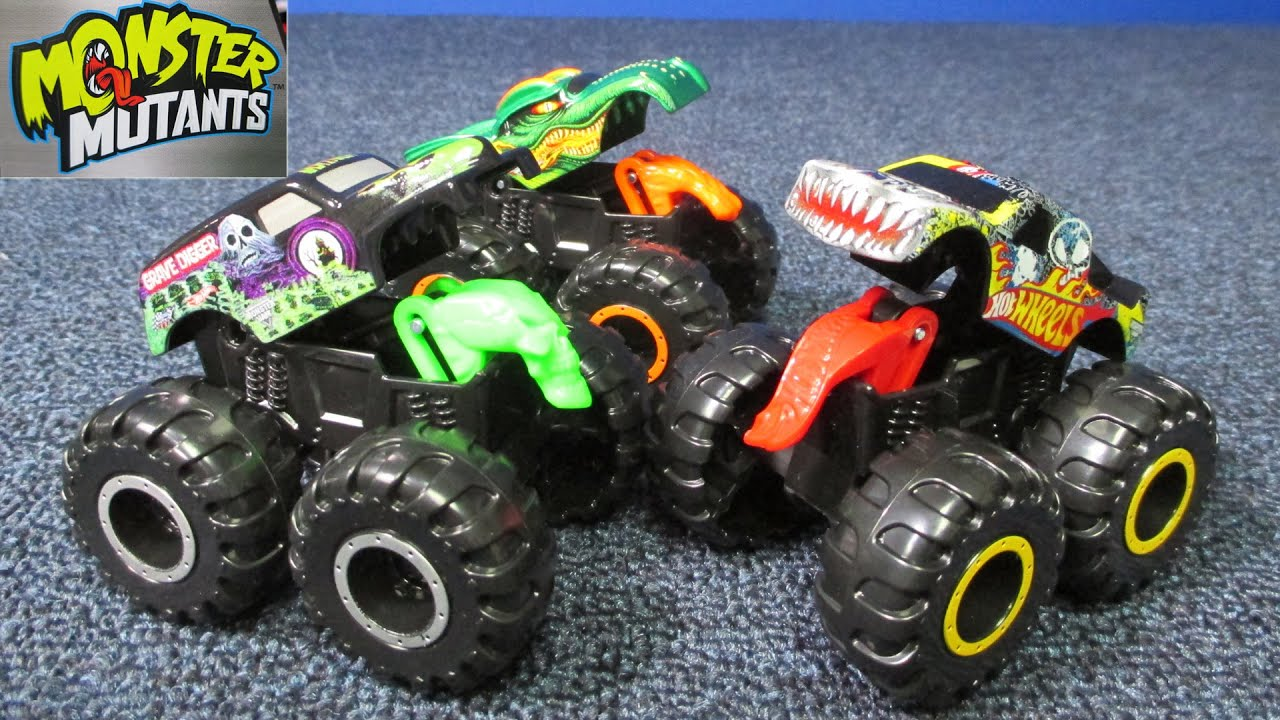 Hot Wheels Monster Jam Monster Mutants With Opening Features