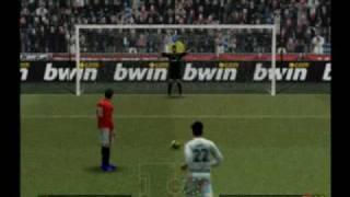 Penal Insólito en PES 2010 PS2