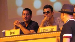 NKOTB Cruise 2015 Jordan Knight Match Game Question