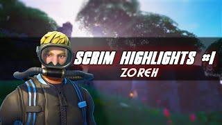 zoreh - fortnite scrim highlights #1
