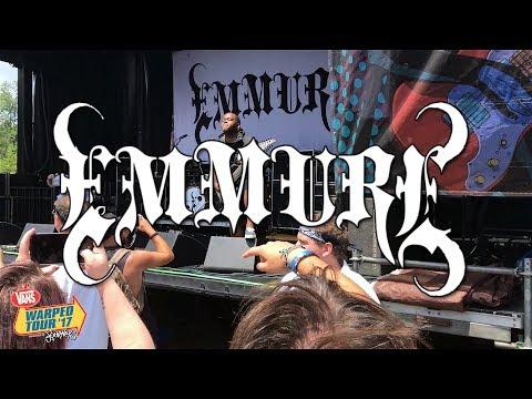 Emmure  Vans Warped Tour 2017  FULL SET Burgettstown, PA