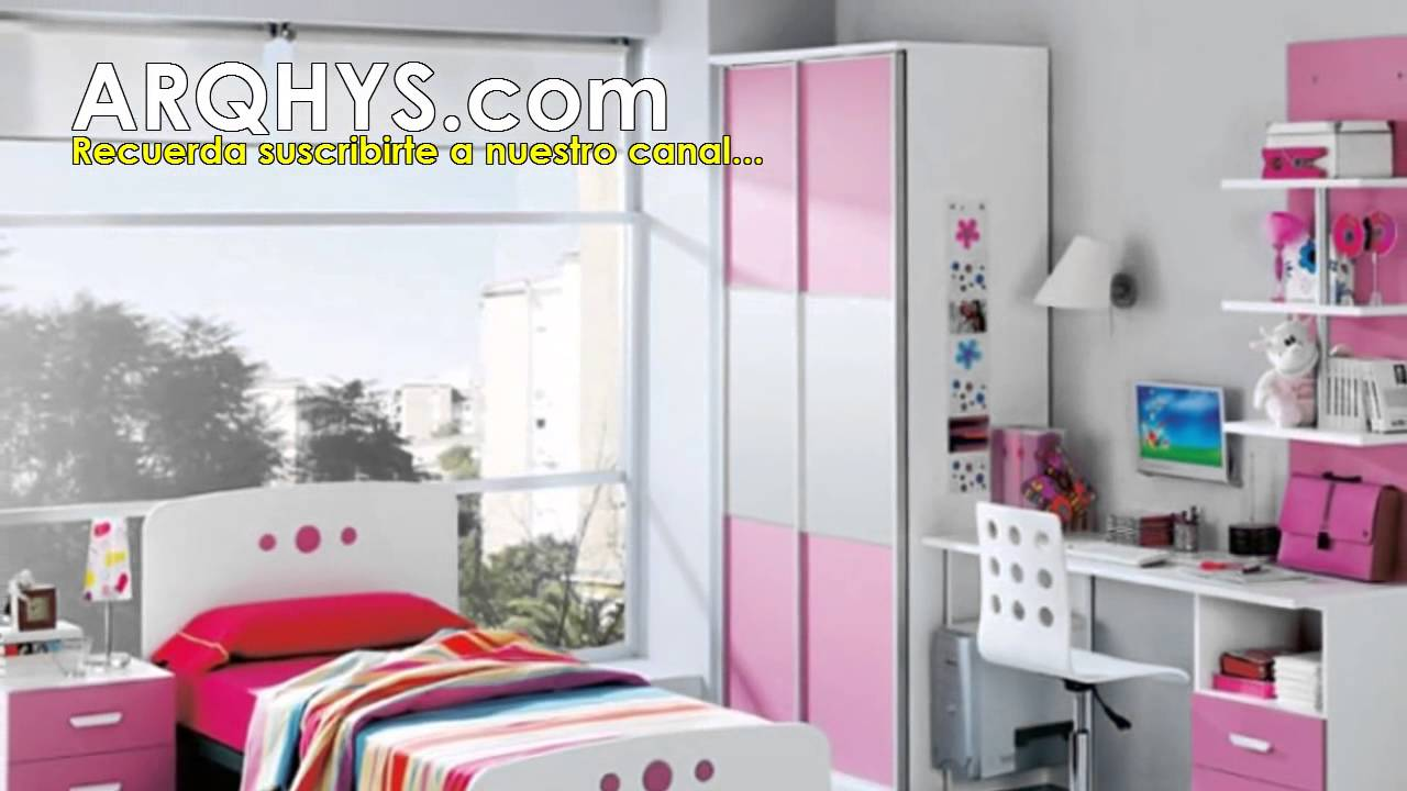 Dormitorios para ni as de 15 a os cuartos y habitaciones for Habitaciones para ninas y adolescentes