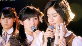大人AKB48 塚本まり子卒業 まゆゆが早ツッコミ 『グリコ パピコTV-CM』