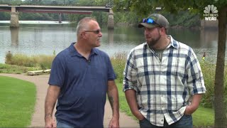 Co-workers for two years discover they're father and son