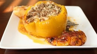 Gemista: Stuffed Tomatoes and Bell Peppers