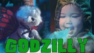 海外のゴジラファンが娘と愛犬をキャストに作り上げた東京破壊ショートフィルム「Godzilly」