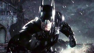 BATMAN Arkham Knight Batmobile Gameplay (PS4 / Xbox One)