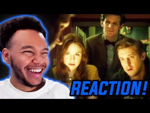 """Doctor Who Season 7 Episode 4 """"The Power Of Three"""" REACTION!"""
